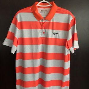 Mens Nike Golf Standard Fit Dri-Fit Polo Large